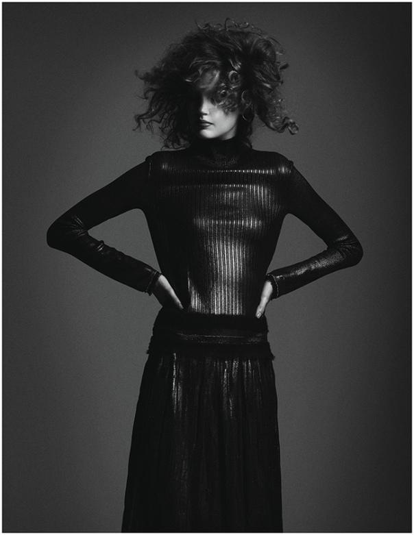 Elisabeth Erm by Driu & Tiago for Vogue Ukraine December 2014