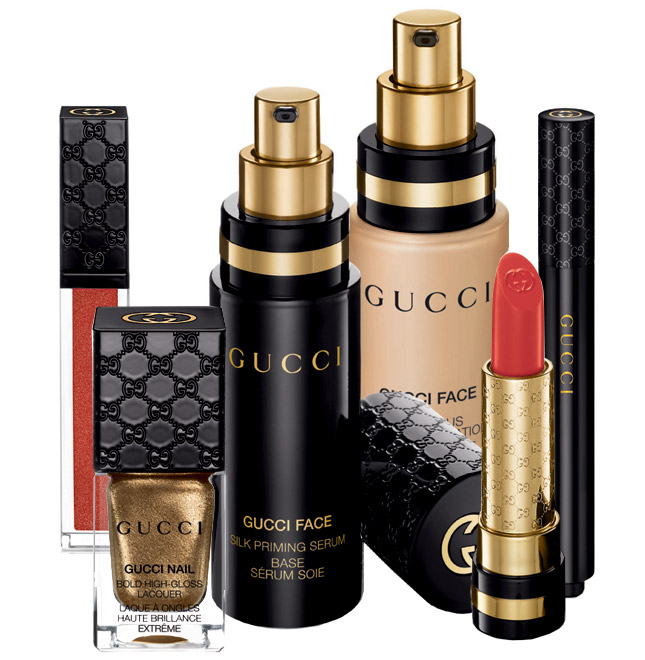 Gold on Black – Gucci's Beauty Line Is Here