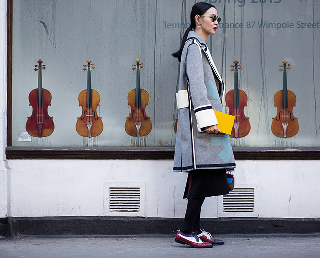 Street Style at Men's London Fashion Week Fall/Winter 2015
