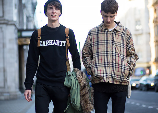 Street Style At Men S London Fashion Week Fall Winter 2015