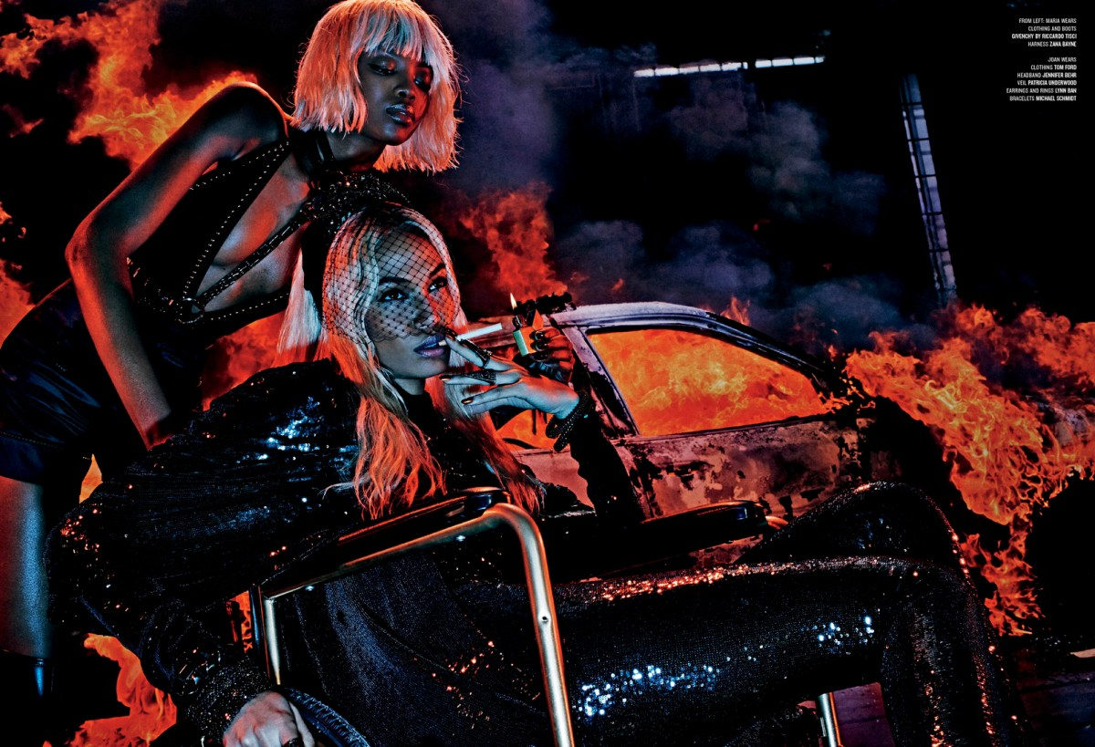 Fight Fire With Fire - by Steven Klein For V #94 Spring 2015