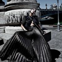 The Black Magic - by Tibi Clenci for Elle India September 2015