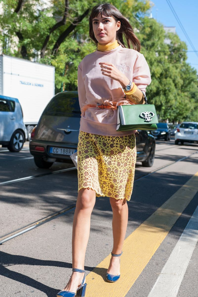 Street Style At Milan Fashion Week Spring Summer 2016 Crazyforus