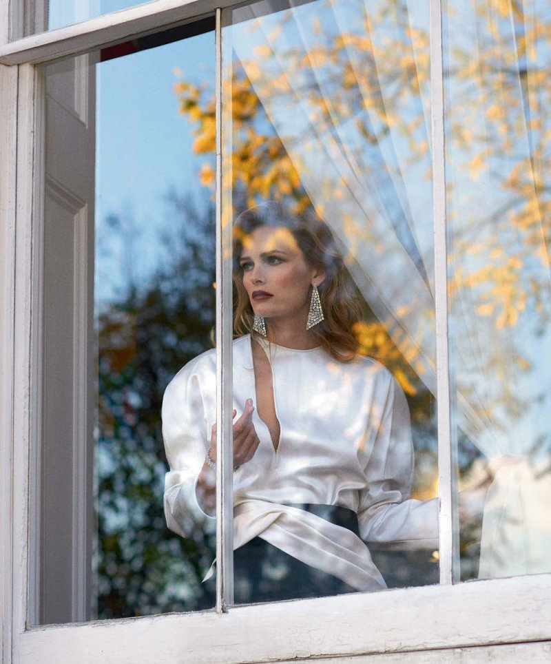 Edita Vilkeviciute by Virginie Khateeb for Porter #25 Spring 2018