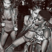 Balmain Punk by Derek Ridgers for 10 Magazine S/S