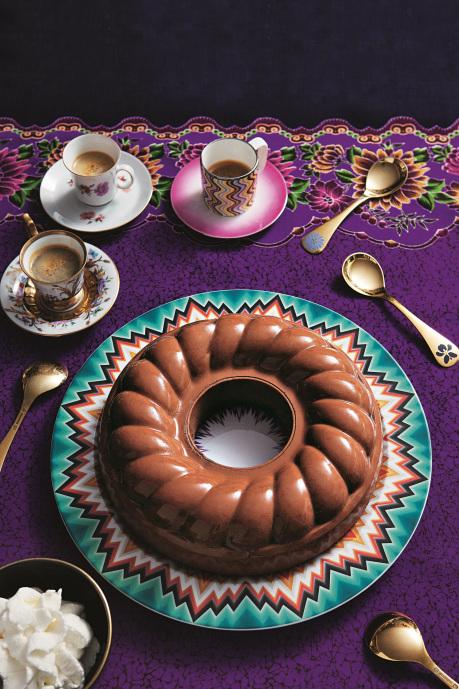 Famous budino chocolate desert - The Missoni Family Cook Book